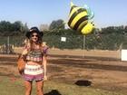 Thaila Ayala comemora aniversário no Coachella