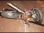 Motociclista morre após colisão frontal entre carro e moto