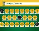 Oscar herda camisa 10 de Neymar, e Paulinho volta ao time com número 15