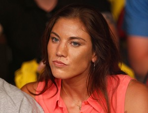 Hope Solo UFC MMA Johnson x Moraga (Foto: Getty Images)