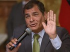 Presidente do Equador não antevê fim de impasse no caso Assange