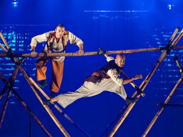 Circo Mínimo em cena com 'Simbad, o Navegante' (Foto: Paulo Barbuto)