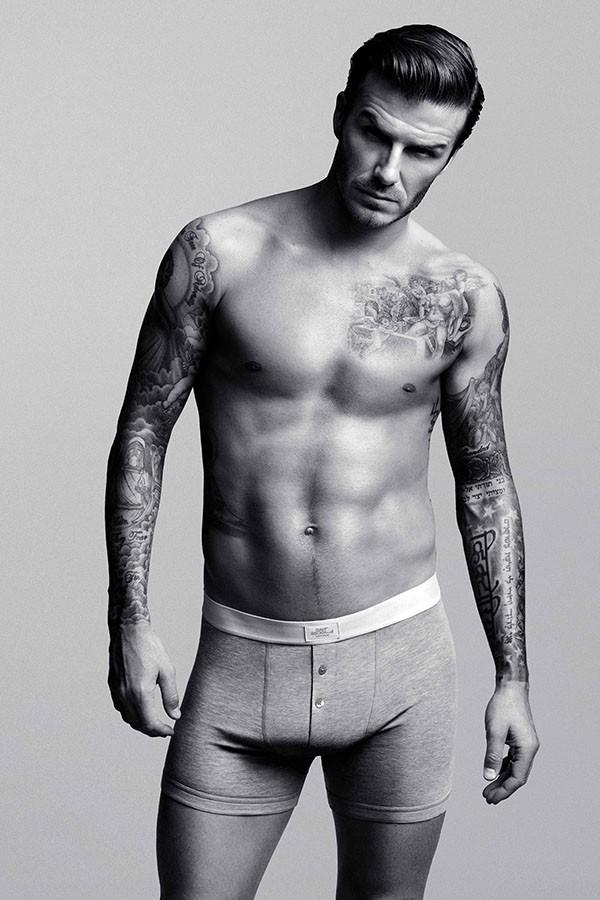 David Beckham para H&M (Foto: Divulgação)