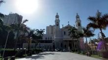 Praça Santuário de Nazaré - Desaparecidos (Foto: Rafael Rolim )