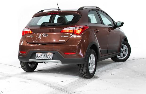 Hyundai HB20X (Foto: Fabio Aro/Autoesporte)