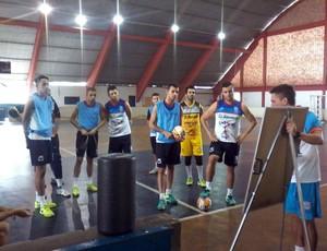 Treino Guará Futsal (Foto: Wesley Szabo / Divulgação)