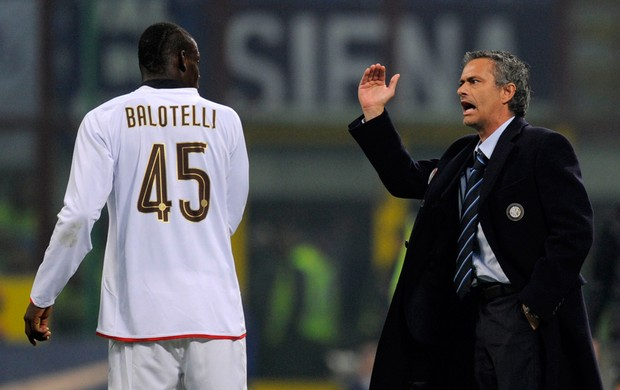 balotelli mourinho  (Foto: Getty Images)