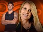 Marcia garante que é diferente do filho Diego: 'Sou zen' (BBB / TV Globo)