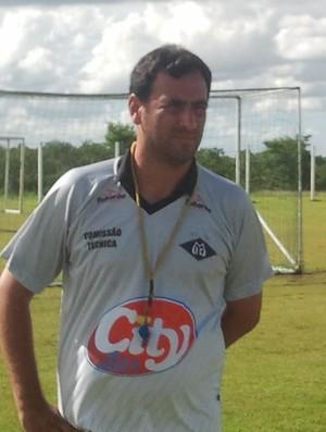 Eduardo Henrique treinador do Mixto (Foto: Globoesporte.com)