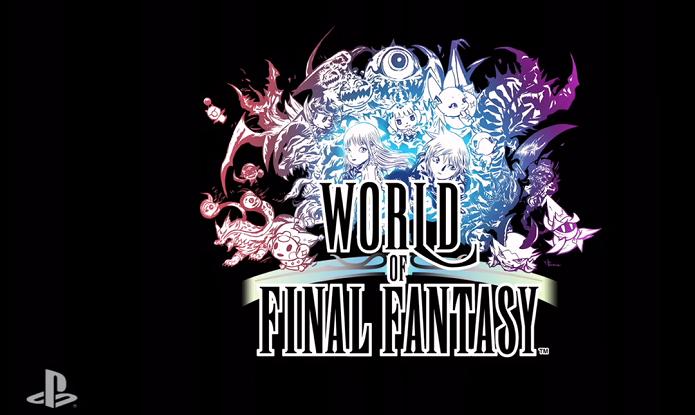 World of Final Fantasy será lançado para plataformas PlayStation em 2016 (Foto: Divulgação)