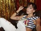 Anitta grava clipe da música 'Não Para' em boate