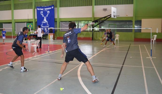 Competição Supercopa de Badminton, em João Pessoa, Paraíba (Foto: Amauri Aquino / Globoesporte.com/pb)