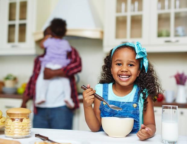 Café da manhã para as crianças (Foto: ThinkStock)