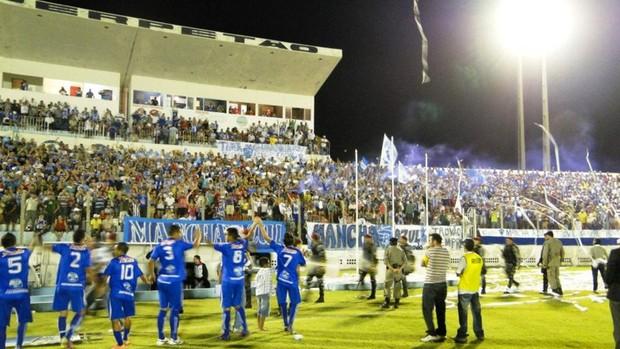 Atlético de Cajazeiras quer fazer boa campanha no Paraibano de 2013 (Foto: Divulgação / Atlético de Cajazeiras)
