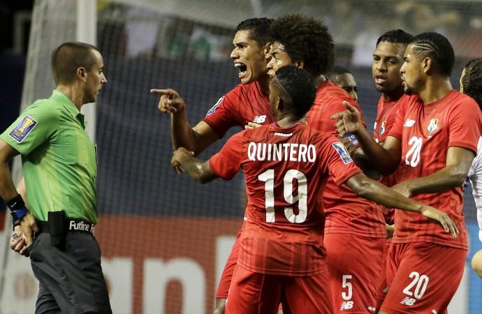 México 2 x 1 Panamá Copa Ouro - AP (Foto: AP)