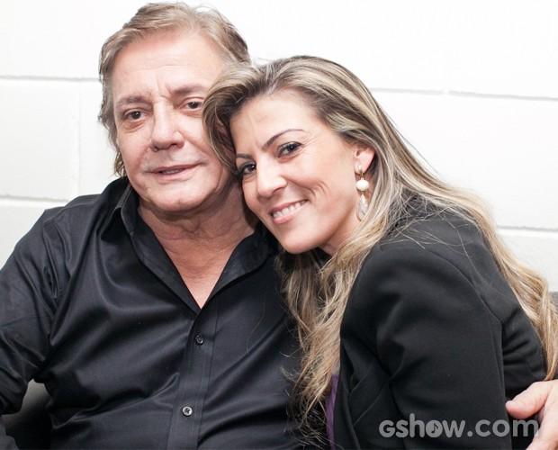 Fábio Jr. Maria Fernanda (Foto: Camila Serejo/TV Globo)