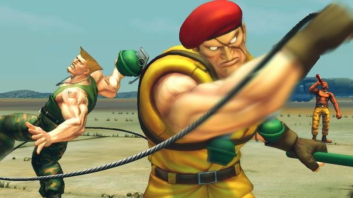 Rolento é um dos personagens de Ultra Street Fighter IV (Foto: Divulgação/ Capcom)