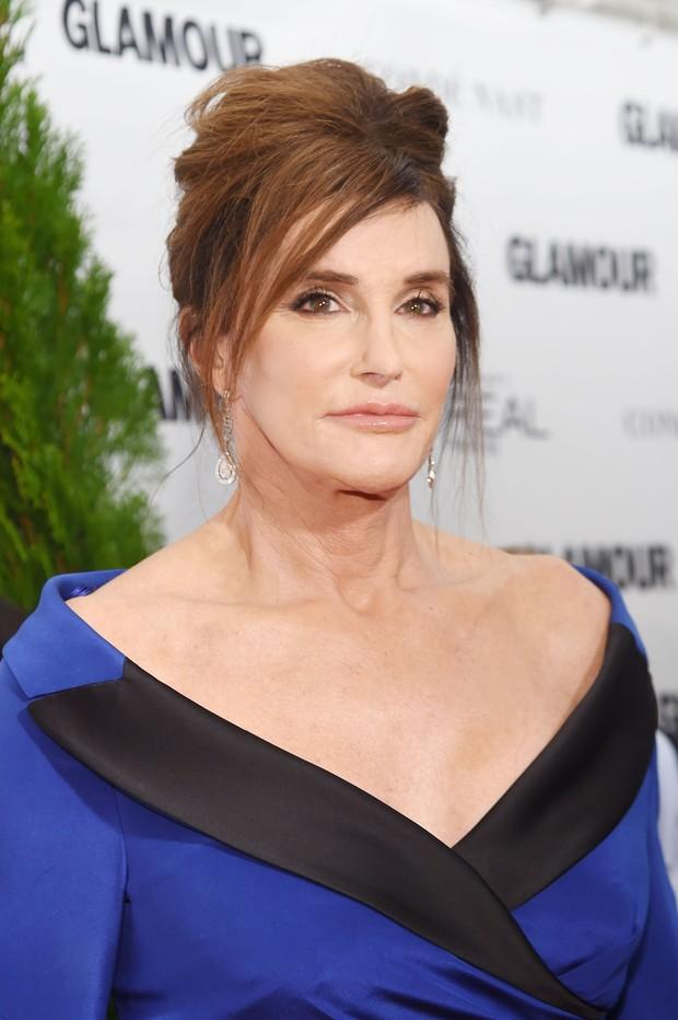 Caitlyn Jenner em premiação em Nova York, nos Estados Unidos (Foto: Jamie McCarthy/ Getty Images/ AFP)