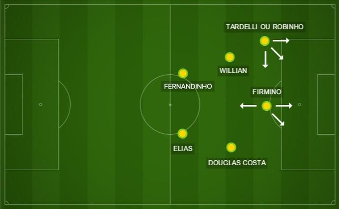 Campo 1 - seleção (Foto: infoesporte)