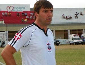 Gilberto Gaúcho treinou o Coríntians de Caicó neste ano (Foto: Eduardo Dantas/Cedida)