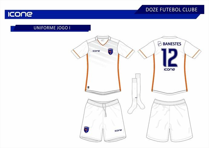 Uniforme 2 - Doze - 2016 (Foto: Reprodução)