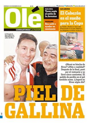D'Alessandro Inter Diario Ole (Foto: Reprodução)