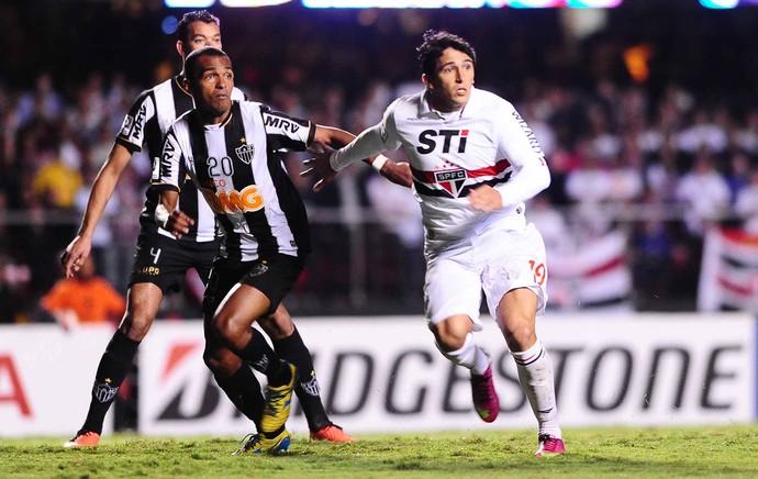Richarlyson, São Paulo x Atlético-MG (Foto: Marcos Ribolli)