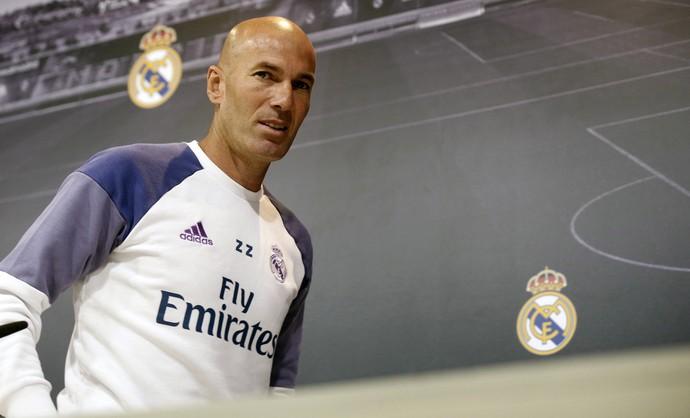 Zidane técnico Real Madrid (Foto: EFE)