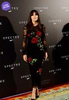 Look do dia: Monica Bellucci arrasa em première de '007 contra Spectre'