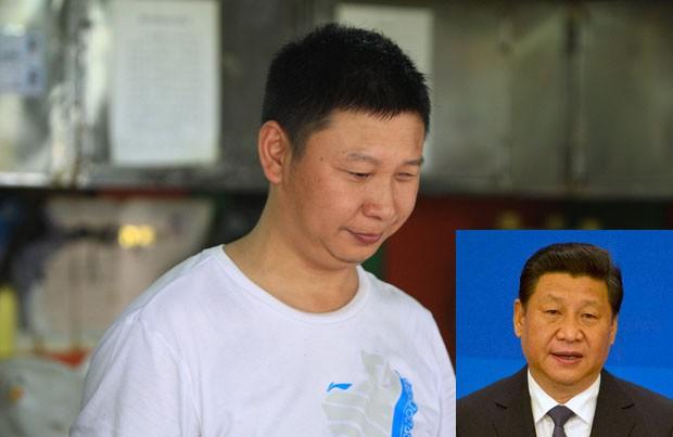 Shao Jianhua virou 'celebridade' por ser parecido com o presidente chinês (Foto: AFP)