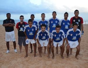 Gama, campeão do 1º turno do Paraibano de Futebol de Areia (Foto: Expedito Madruga)