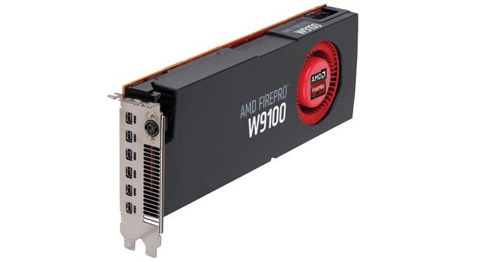 AMD FirePro W9100 conta com seis entradas mini DisplayPort (Foto: Divulgação/AMD)