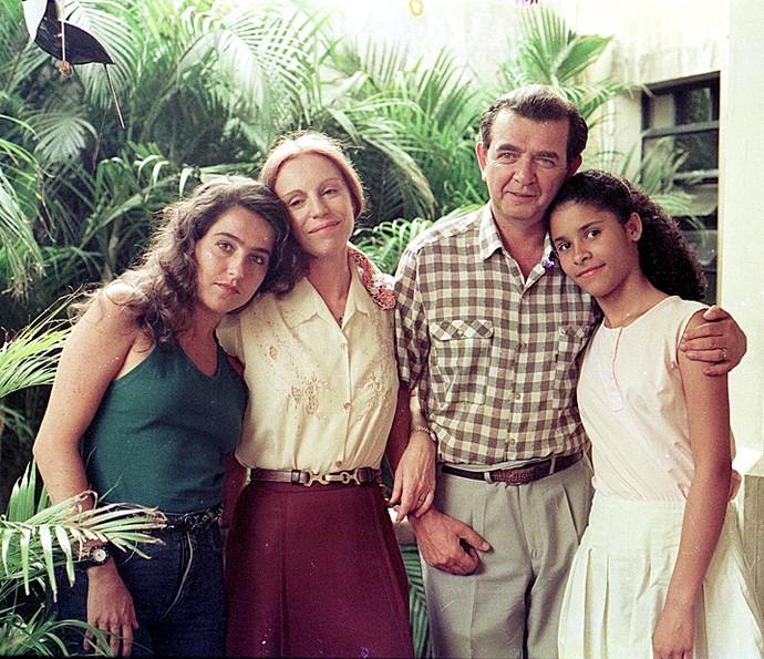 Em 'Felicidade' (1991), Umberto Magnani foi Ataxerxes (Foto: TV Globo)