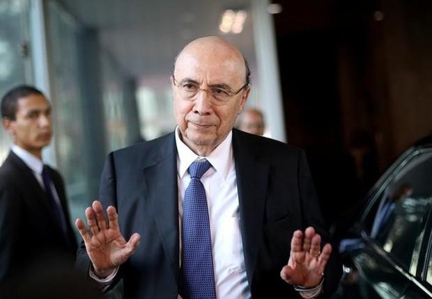 O ministro da Fazenda, Henrique Meirelles, em Brasília (Foto: Adriano Machado/Reuters)