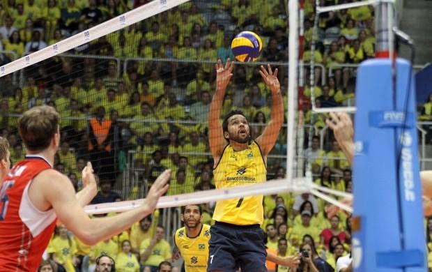 volei William Seleção Brasileira (Foto: Editoria de Arte)