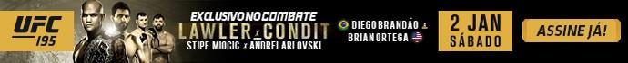 Banner Combate UFC 195 (Foto: Combate)