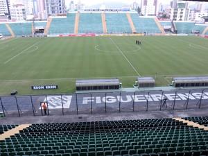Figueirense x Santos Orlando Scarpelli (Foto: Diego Madruga)