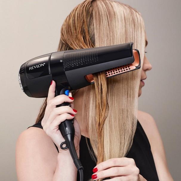 Secador que alisa o cabelo da Revlon (Foto: Divulgação)