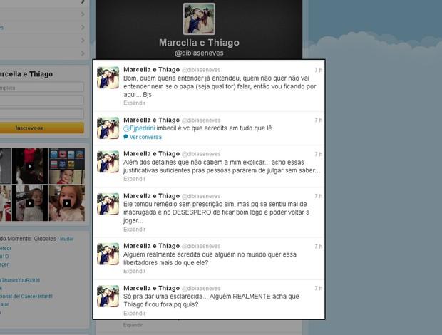 thiago neves esposa twitter (Foto: Reprodução)