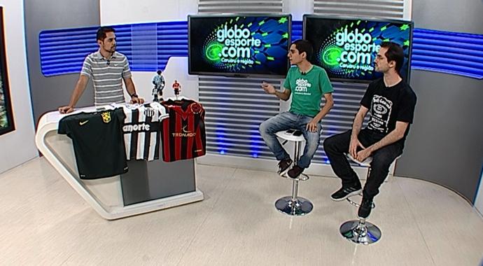 Segunda rodada da série D é tema de programa feito pelo Globo Esporte (Foto: Reprodução/ TV Asa Branca)
