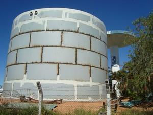 Reservatório deve ser finalizado até outubro (Foto: Saae/Divulgação)