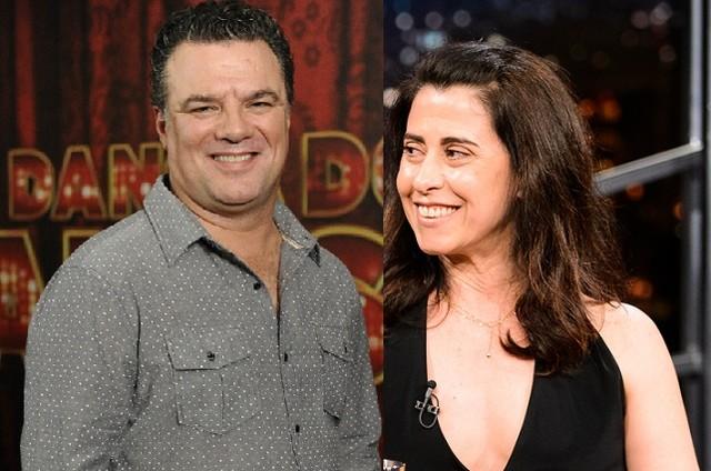 Adriano Garib e Fernanda Torres (Foto: TV Globo)