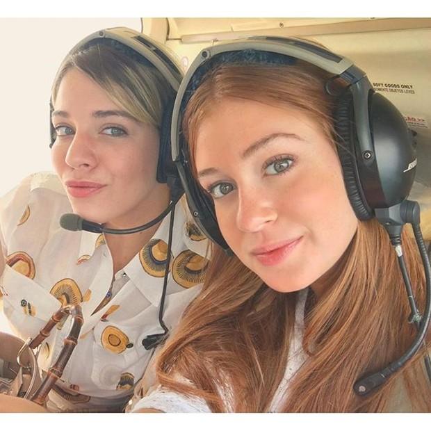 Luma Costa e Marina Ruy Barbosa (Foto: Reprodução/Instagram)