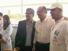 Alckmin entrega ala para idosos em hospitais de Pedregulho e Ipuã, SP