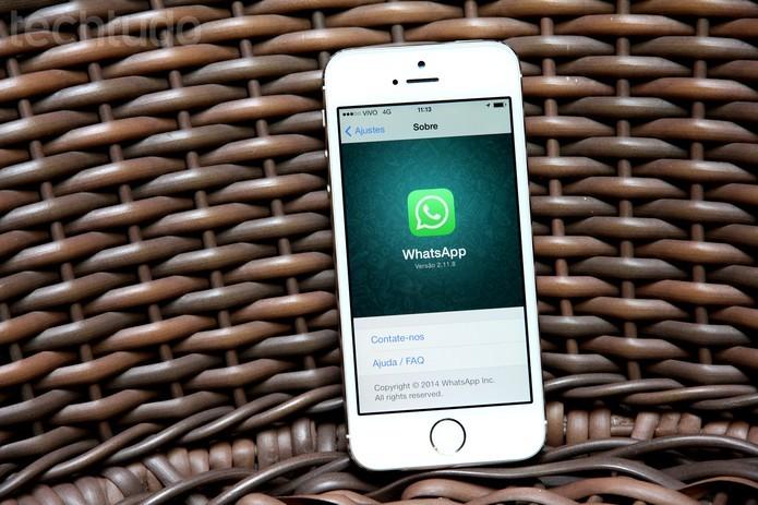 Veja como solucionar problemas do WhatsApp para iOS? (Foto: Luciana Maline/TechTudo)