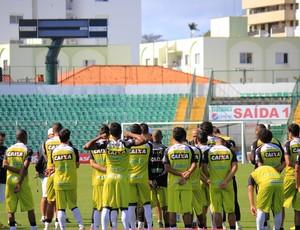 Figueirense treinamento (Foto: Luiz Henrique/Figueirense FC)