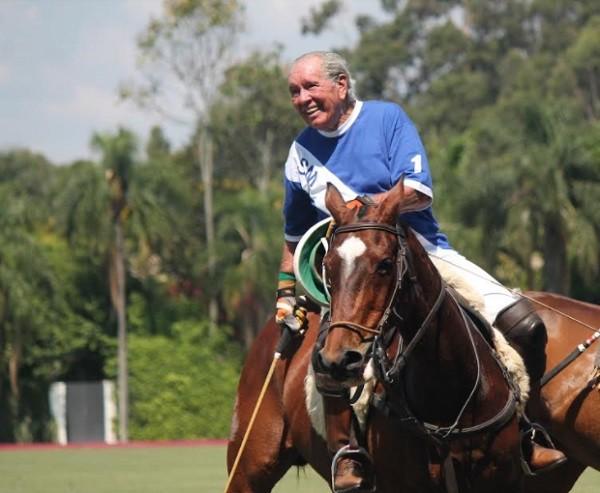 Ícone do polo, PG Meirelles, aos 83 anos, será homenageado em São Paulo  (Foto: Divulgação)