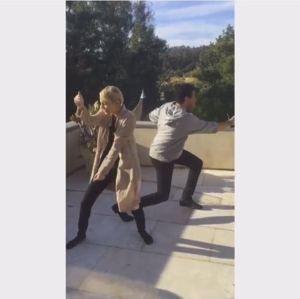 Lionel Richie e Nicole Richie (Foto: Reprodução/Instagram)