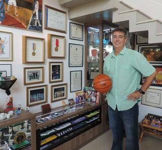 Guerrinha, técnico, basquete (Foto: Guilherme Giavoni)