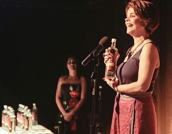 Filomena Chiaradia, premiada na Categoria Especial (Foto: Alexandre Ramos)